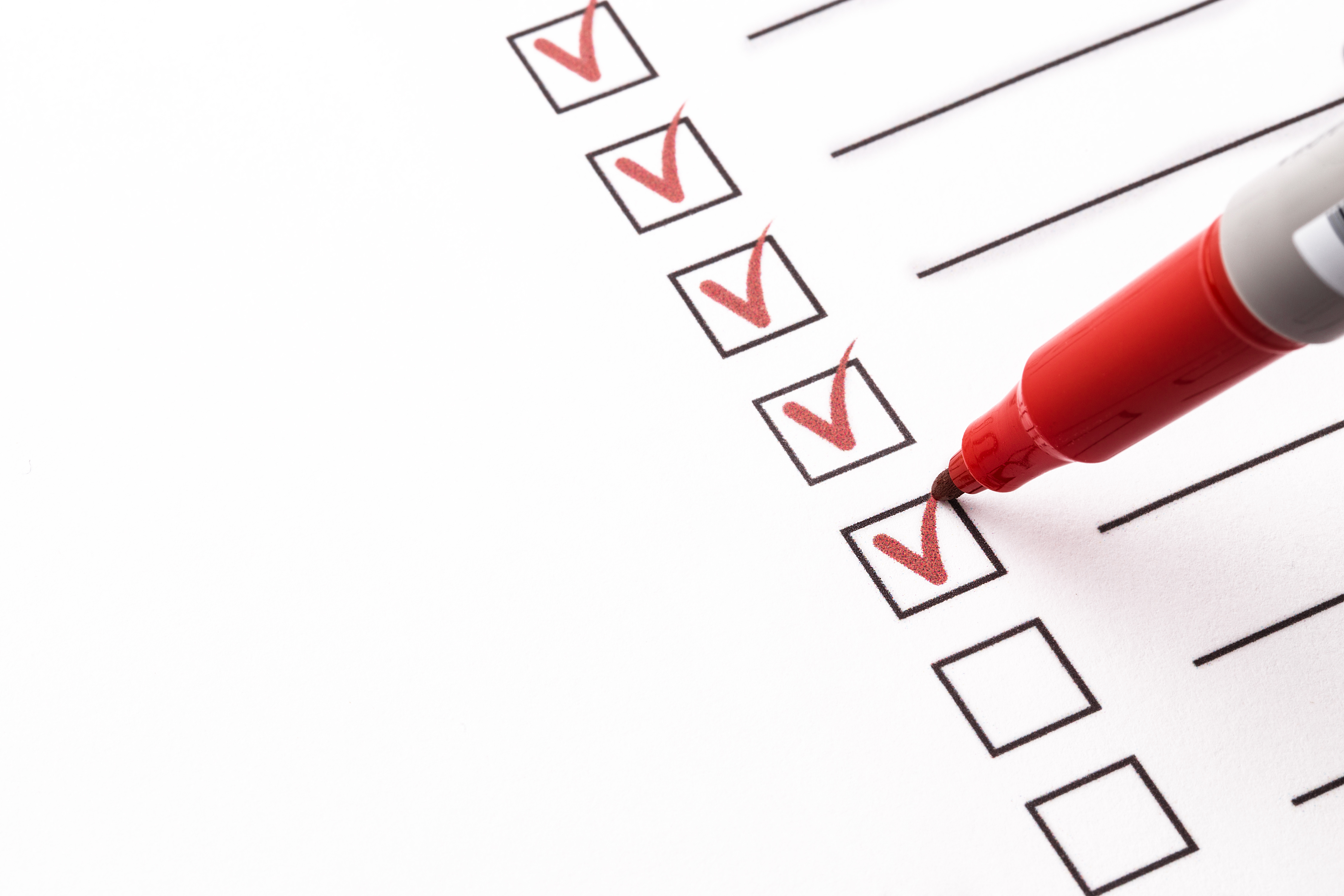 Credit union exam checklist from redboard